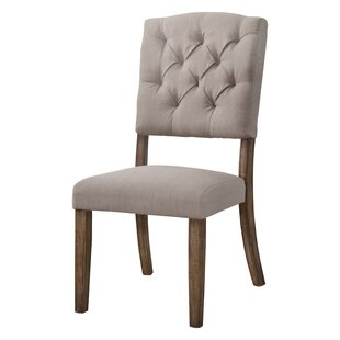 Ahner Side Upholstered Dining Chair (Set of 2) One Allium Way