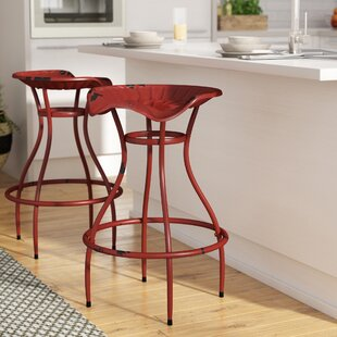 Pavot 29.75 Tractor Bar Stool by Laurel Foundry Modern Farmhouse