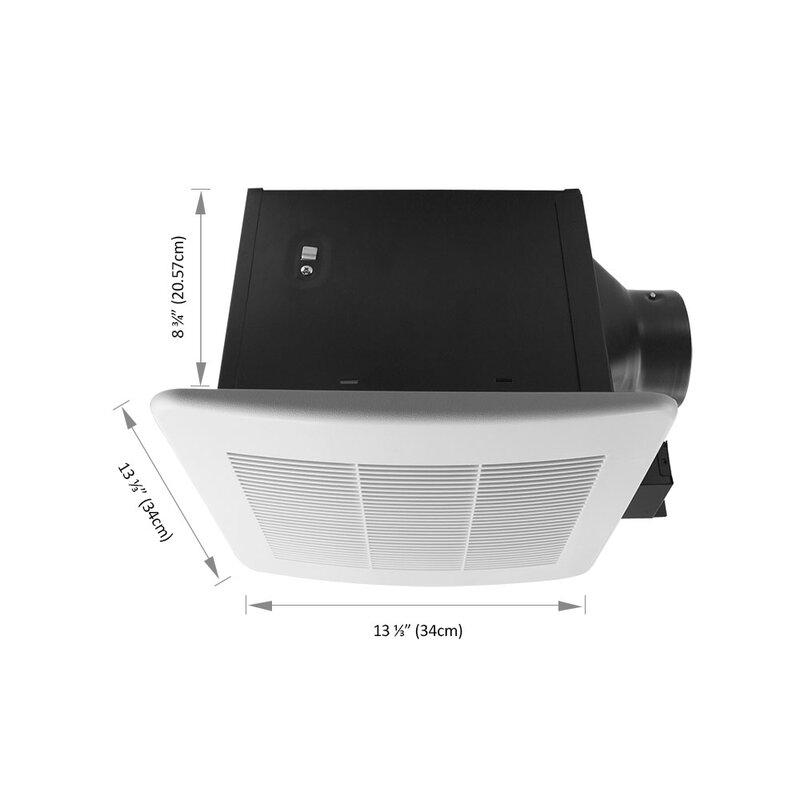 BV Bathroom Fan 150 CFM Ceiling Mount Ventilation Exhaust Air Vent Fan BF03