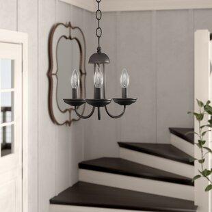 Charlton Home Bordelon 3-Light Candle Style Chandelier