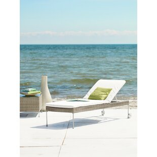 Mars Adjustable Reclining Chaise Lounge with Cushion