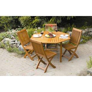 Freida Solid Wood Dining Table by Highlan..