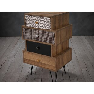 Bchester 4 Drawer Chest By World Menagerie