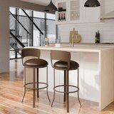 Patricia Swivel Bar & Counter Stool by Winston Porter
