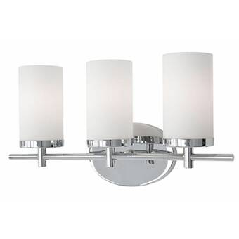 Latitude Run Eriksson 4 Light Dimmable Antique Nickel Vanity Light Wayfair