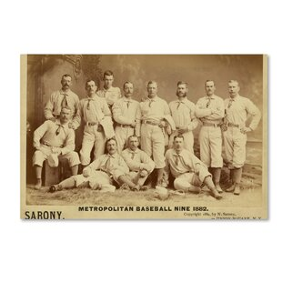 U0027Metro Baseballu0027 Wall Art On Wrapped Canvas
