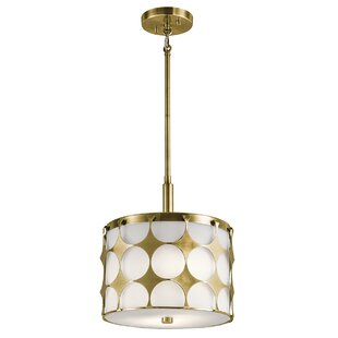 Mercer41 Christopherson 2-Light Durm Pendant