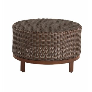Plow & Hearth Urbanna Premium Wicker Coffee Table