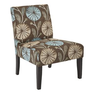 Barhill Patterned Slipper Chair by Andover Mills
