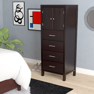 Thierry 4 Drawer Lingerie Chest by Latitude Run