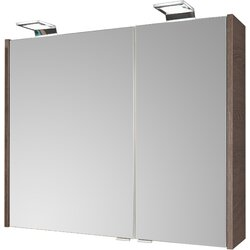 80 x 65 cm Spiegelschrank Malua