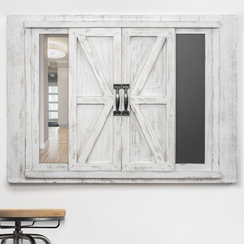 Gracie Oaks Kilmer Sliding Barn Door Collage Picture Frame