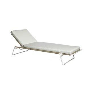 OASIQ Sandur Sun Chaise Lounge with Cushion