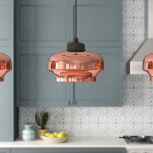 Mistana Elsa 1-Light Geometric Pendant