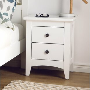 Sunset 2 Drawer Nightstand by Winston Porter