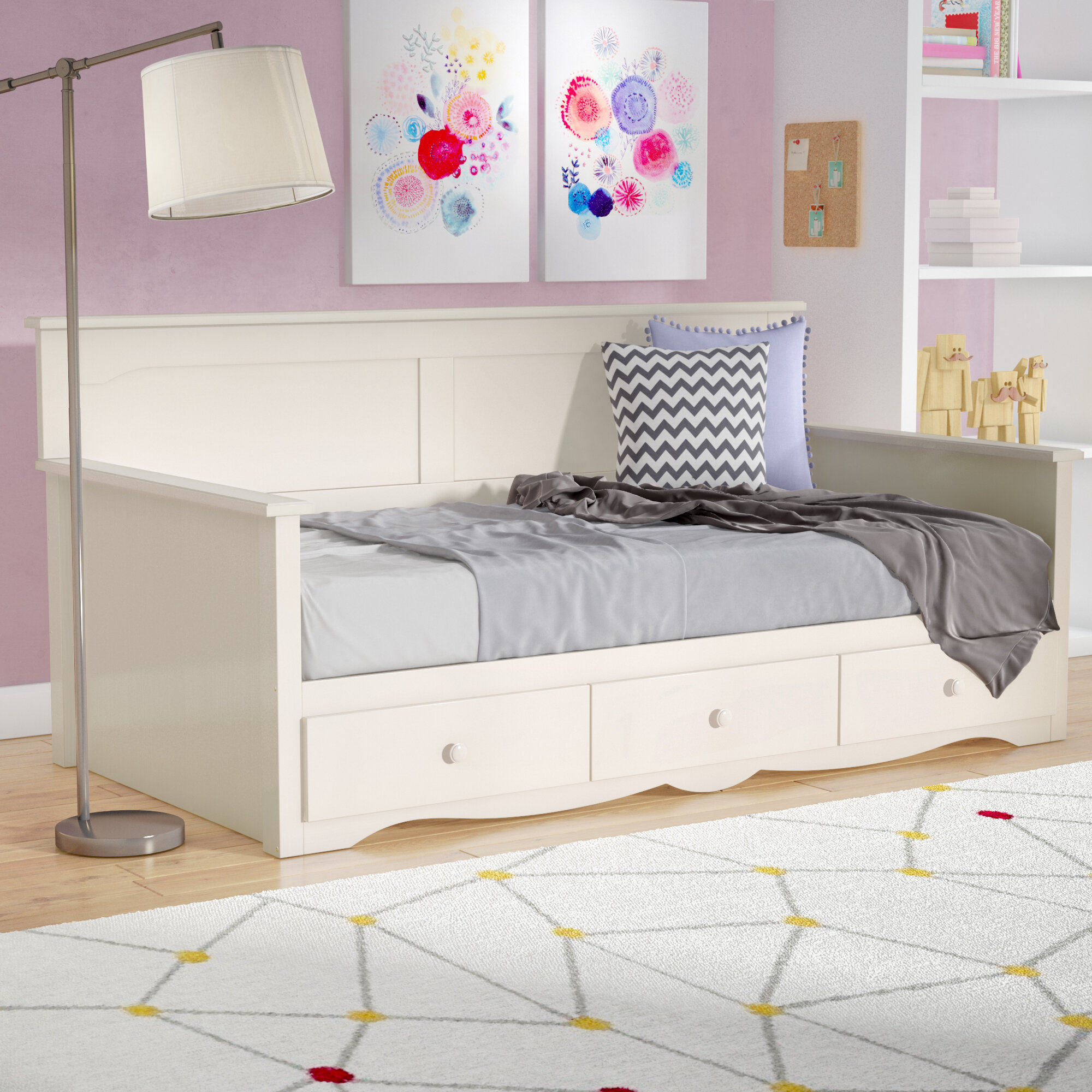 Picture of: Kids Daybeds Up To 60 Off Through 12 21 Wayfair