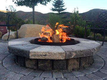 Volcano Fire Pit Grill