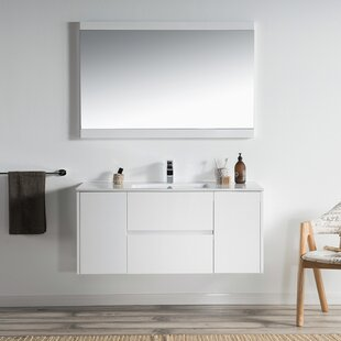 Savings Oquendo 48 Wall-Mounted Single Bathroom Vanity ByOrren Ellis