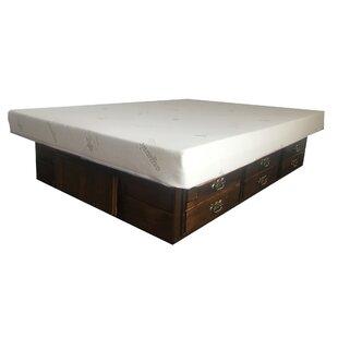August Grove Barnhart Premium Solid Pine Storage Platform Bed
