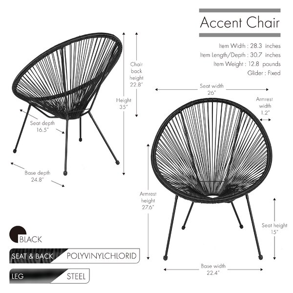 Wrought Studio Kadin 28 3 Wide Papasan Chair Reviews Wayfair