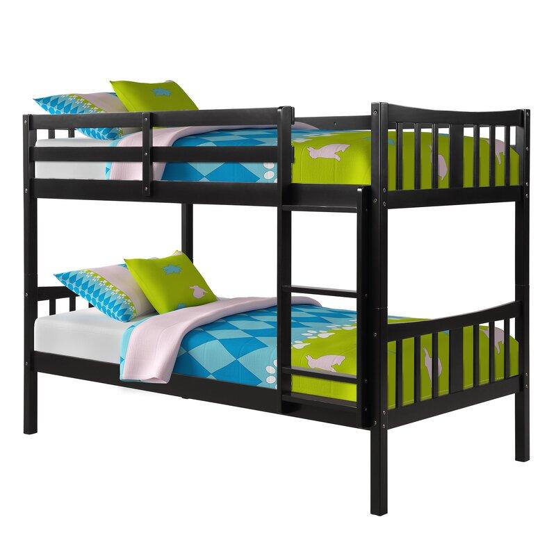 Zoomie Kids Horton Twin Over Twin Bunk Bed Reviews Wayfair