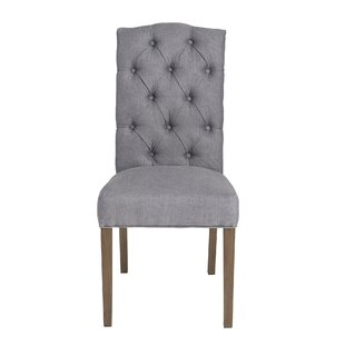 Charlton Home Dunster Upholstered Dining Chair (Set of 2)
