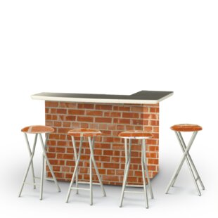 Boston Brick 5-Piece Bar Set