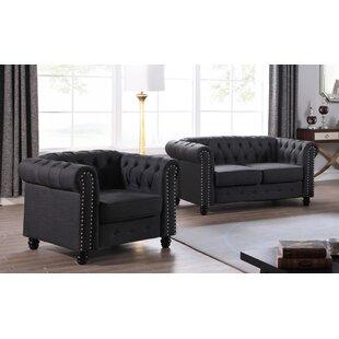 Howington 2 Piece Living Room Set ByAlcott Hill