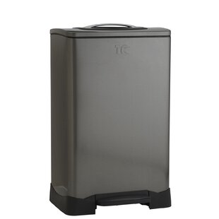 Household Essentials Trash Krusher 13.2 Gallon Trash Can Compactor