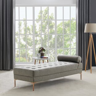 Ken Upholstered Tufted Daybed by Wrought Studio