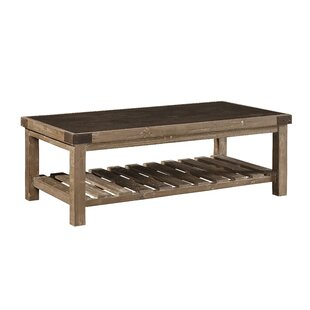 Warren Bluestone Top Coffee Table by Gracie Oaks