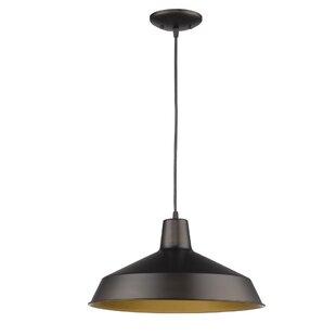 Wrought Studio Chatman 1-Light Cone Pendant
