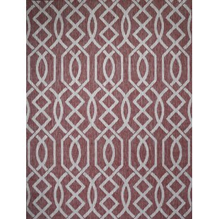 Shuman Brick Indoor/Outdoor Area Rug