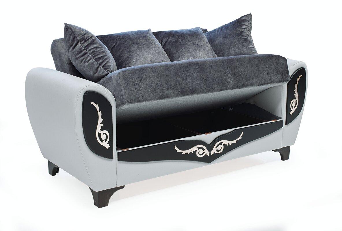 Rosdorf Park Rohde 4 Piece Sleeper Living Room Set
