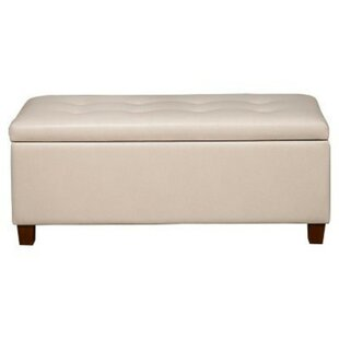 Rylie Faux Leather Storage Bench