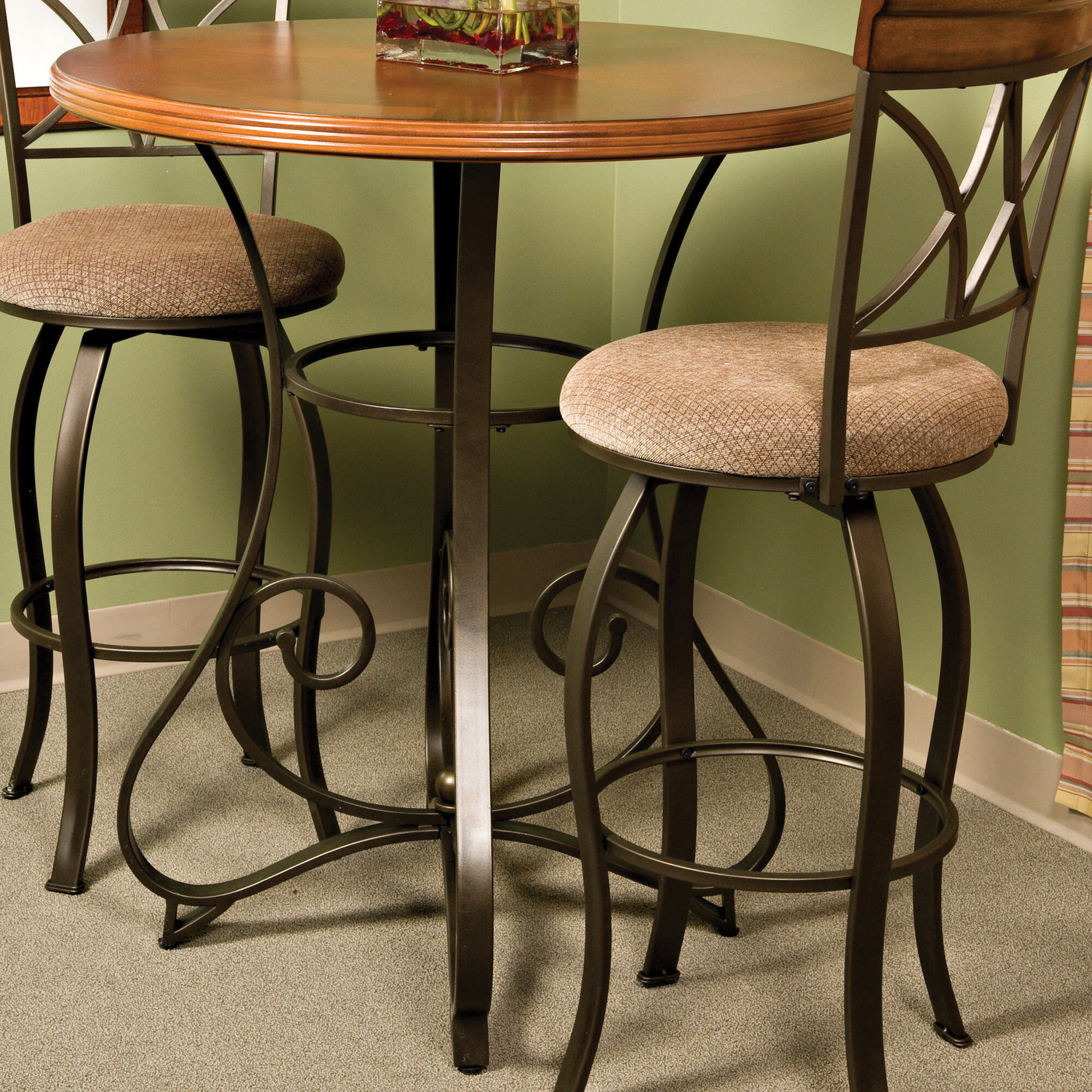 Powell Pewter Pub Table