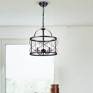 Wrought Studio Benji 3-Light Drum Chandelier