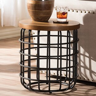 Cissell End Table by Gracie Oaks