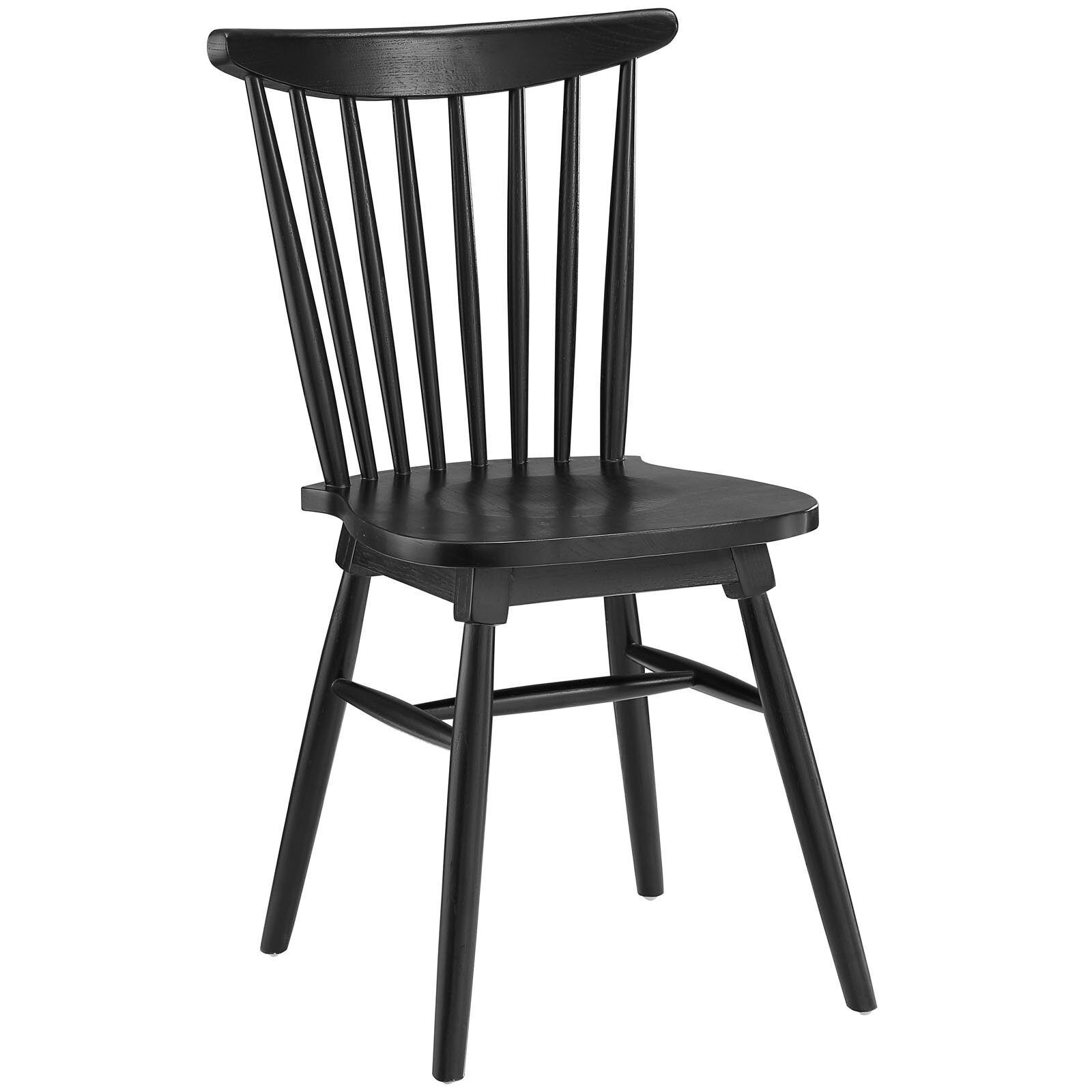 Modway amble solid wood dining chair reviews wayfair