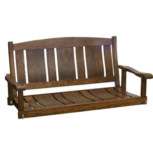 Grindle Slat Back Porch Swing by Alcott Hill