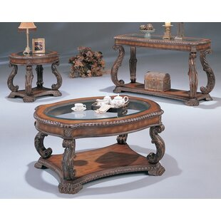 Azusa 3 Piece Coffee Table Set