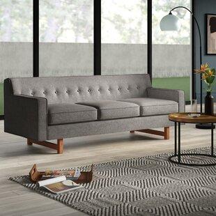 Shop Lomonaco Mid Century Modern Classic Sofa by Mercury Row