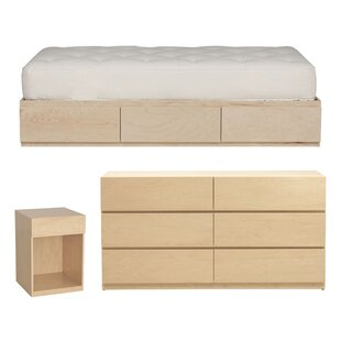 Top Reviews Kareem Twin Platform Configurable Bedroom Set By Mack & Milo