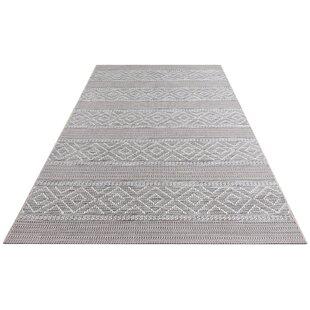 Rhone Flatweave Grey Indoor/Outdoor Rug Image