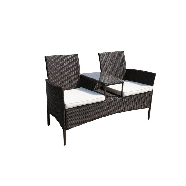 Fresh SunTime Outdoor Living Forres Wicker Tete-a-Tete Bench & Reviews  WC95
