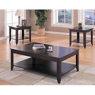 Canora Grey Arline 3 Piece Coffee Table Set