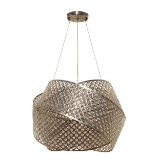 House of Hampton Elara 6-Light Crystal Chandelier