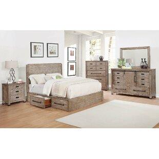 Gracie Oaks Stimpson Storage Panel Bed