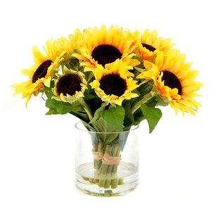Faux Sunflower Bouquet