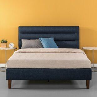 George Oliver Waldschmidt Upholstered Platform Bed